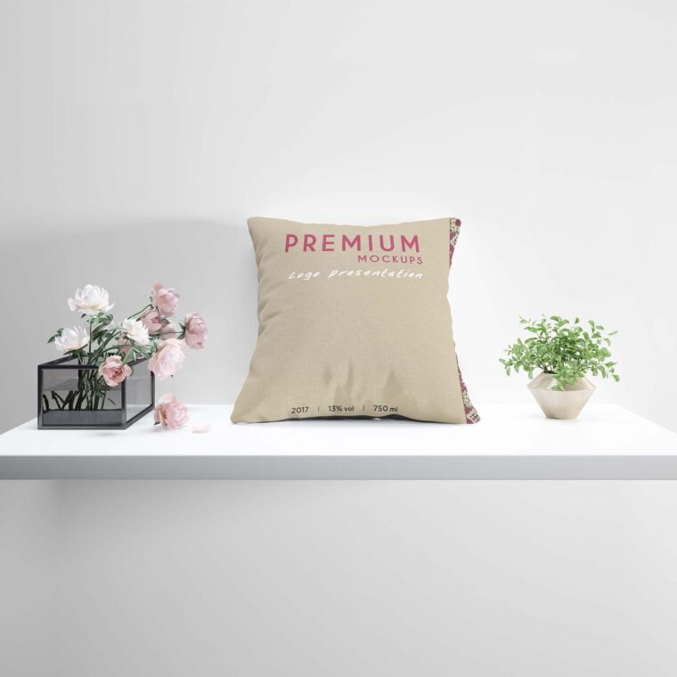 Pillow Deisgn Mockup