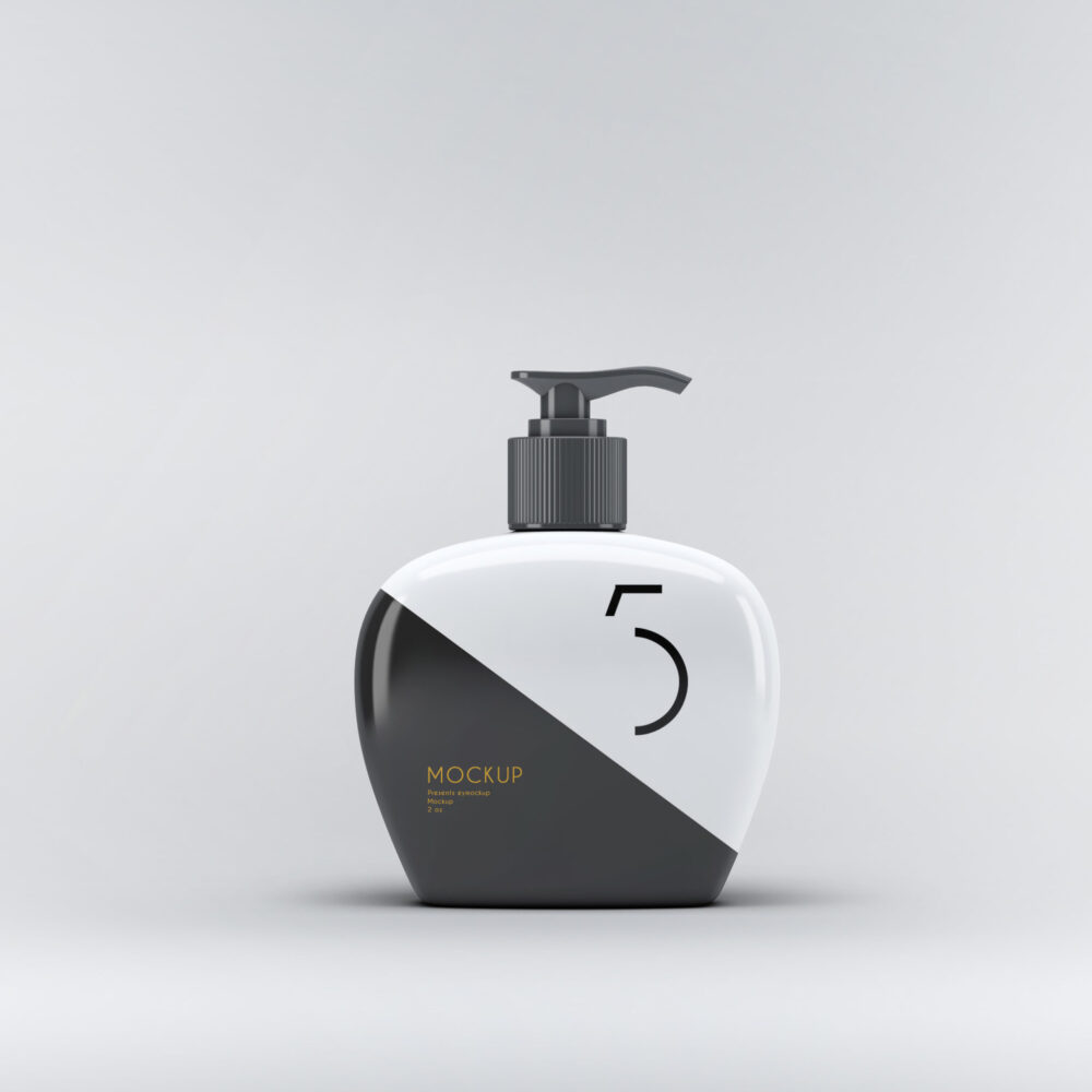 Hand Wash Dispenser Mockup