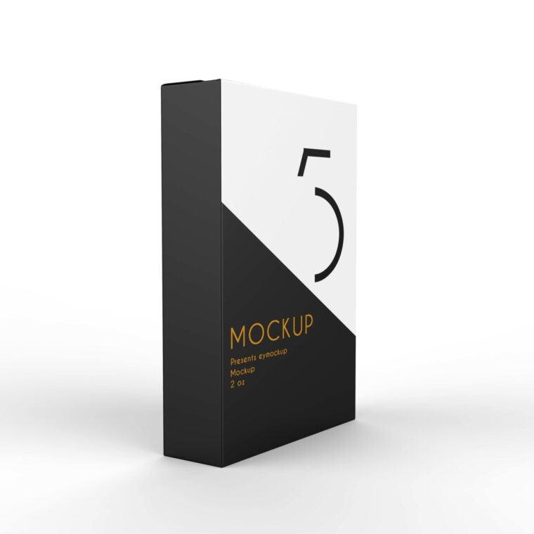 Paper Packet Pakaging Mockup