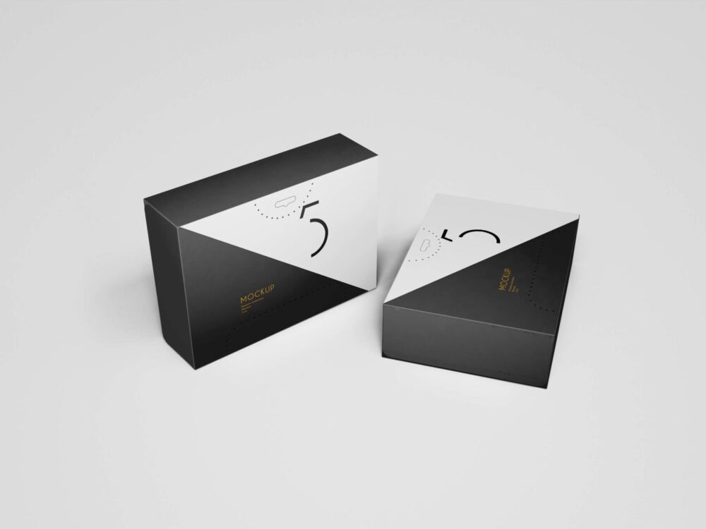 Premium Quality Packaging Box Mockup
