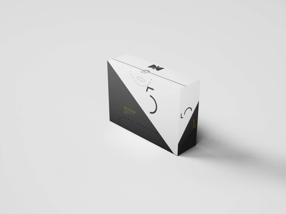 Quality Packaging Sweet Box Mockup