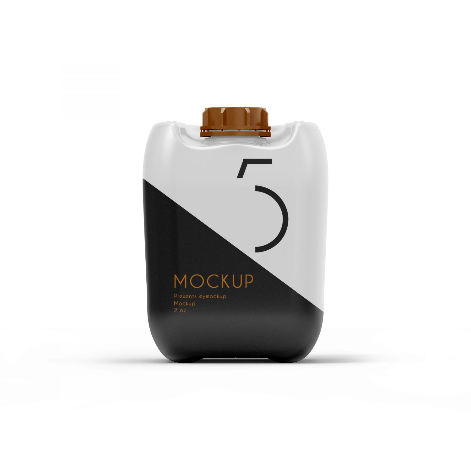 Oil Can Mockup