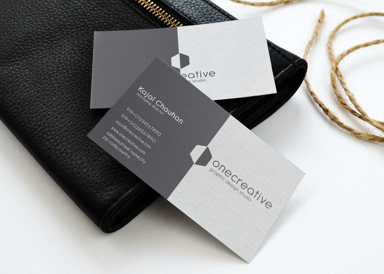 Business Cards Presentation Mockups