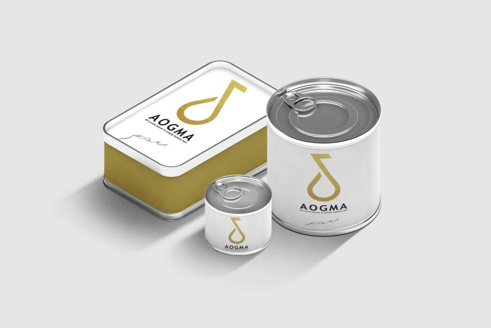 Steel Packaging Mockups