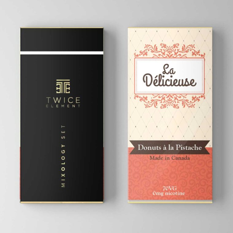 Chocolate Packet Mockup