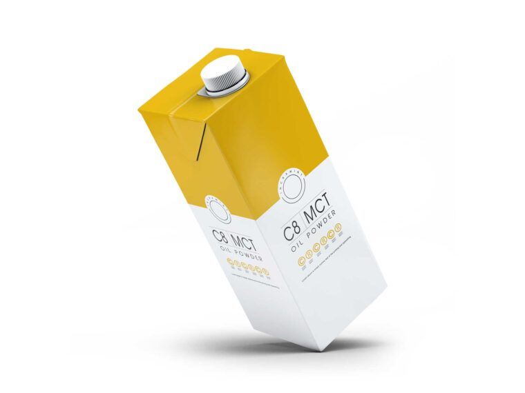 Premium Juice Carton Packaging Mockup
