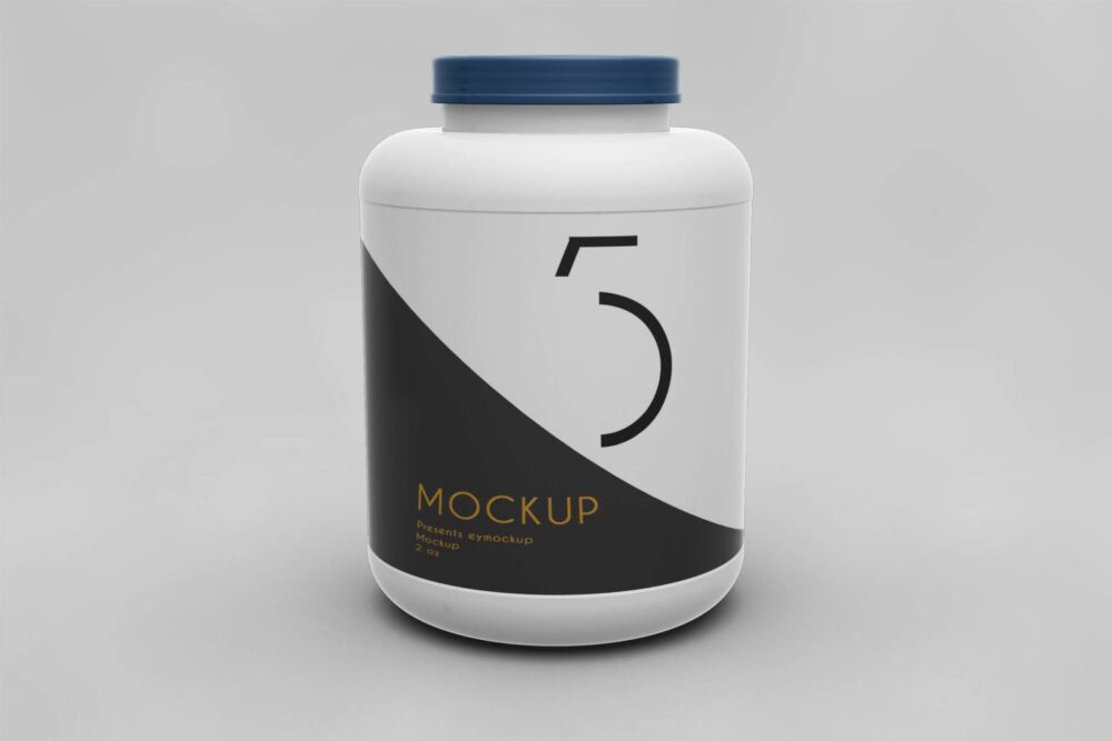 Bottle PSD Mockup