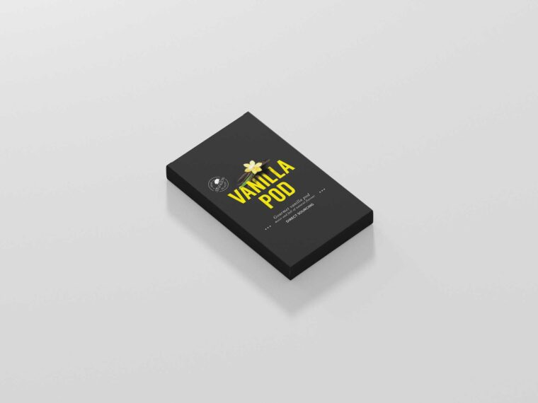 Rectangle Slim Box Mockup