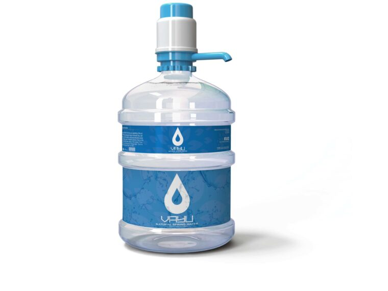 Bailley Pure Water Bottle Label Mockup