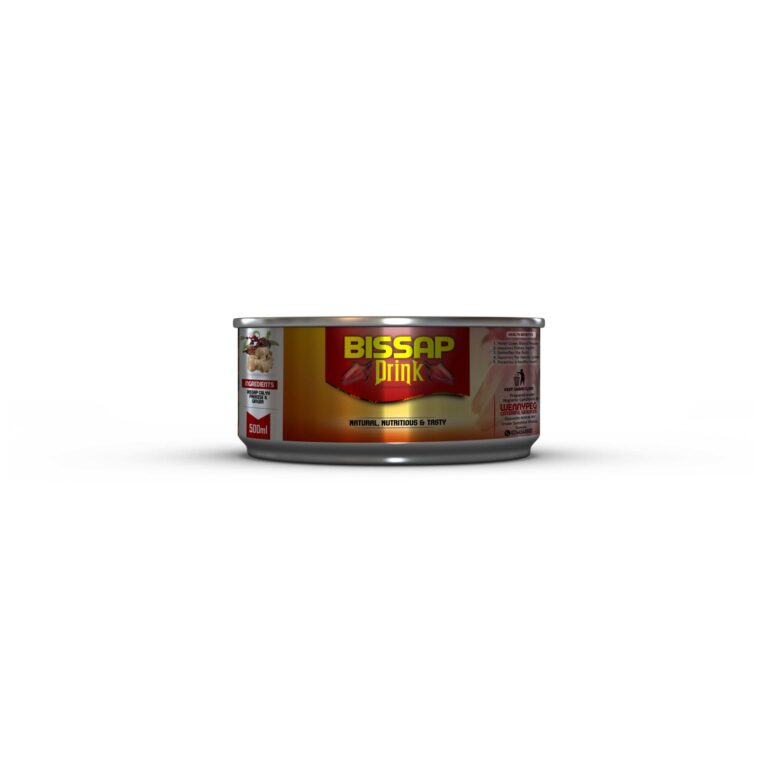 Food Steel Can Mockup