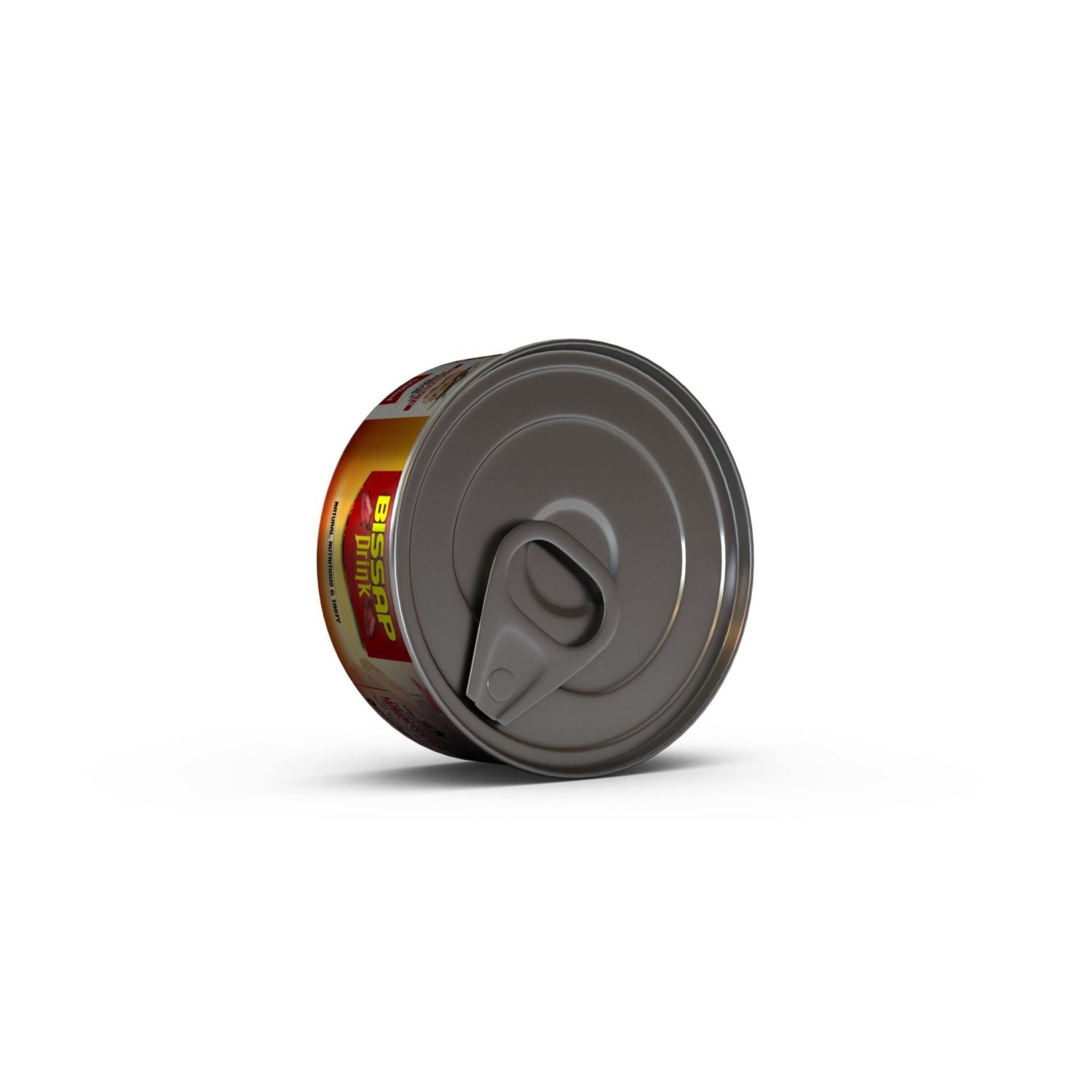 Food Packed Can Mockup
