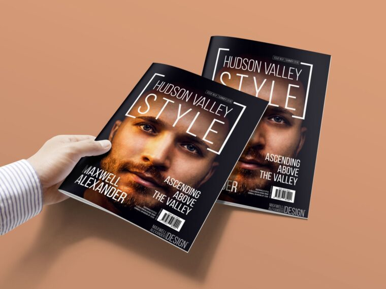 New Beautiful Magazine Presentation Mockup
