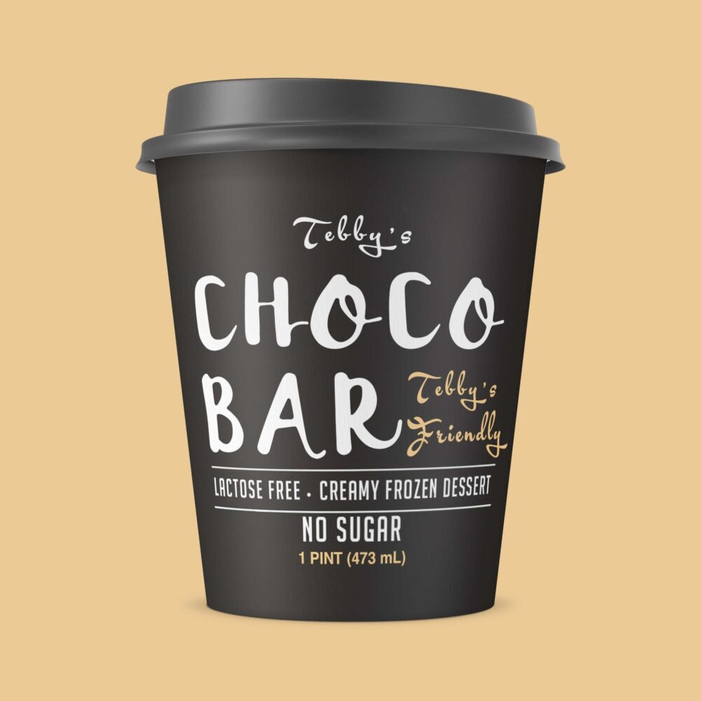 Coffee Cup Label Mockup