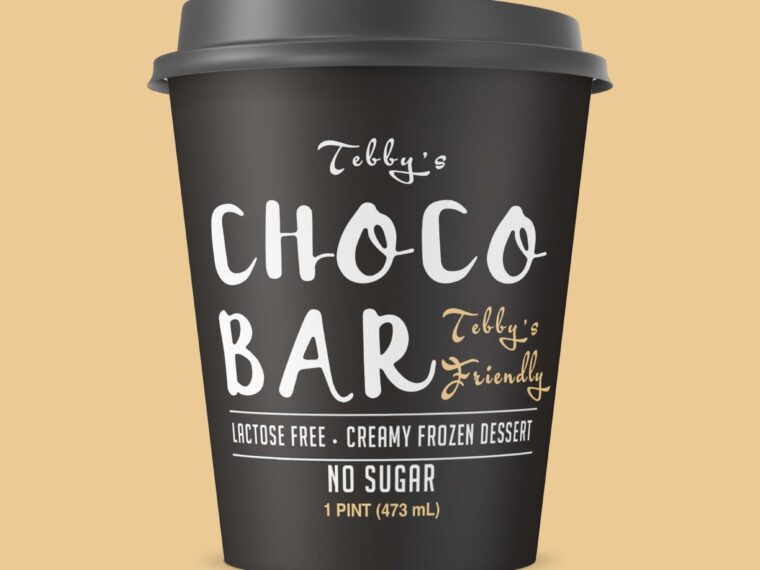 New Movie Coffee Cup Label Mockup