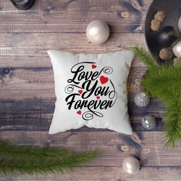 Pillow Cover Design Mockup