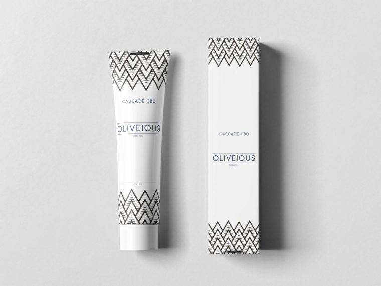Olive Beauty Cream Packaging Mockup
