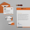 Pure Beautiful Envelope Mockup