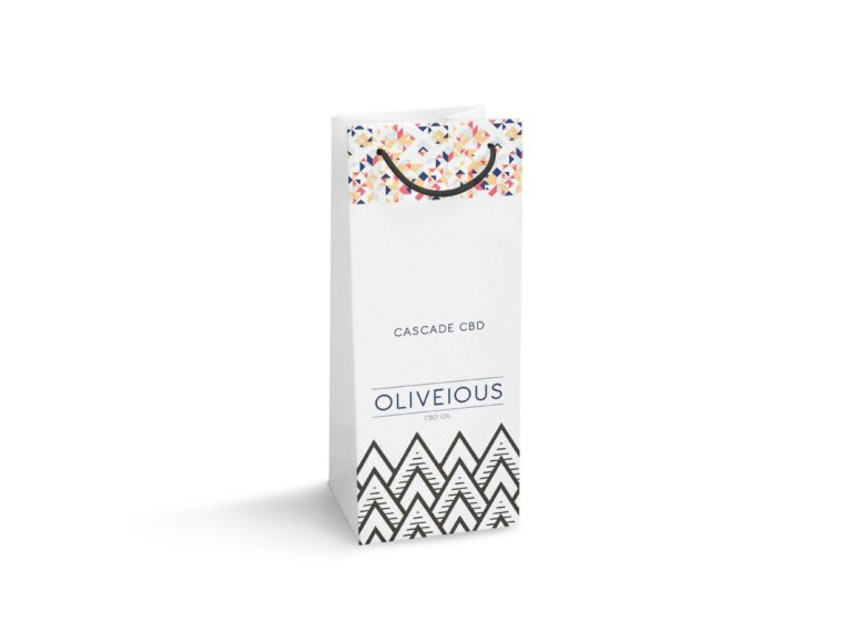 Wine Carry Bag Label Mockup