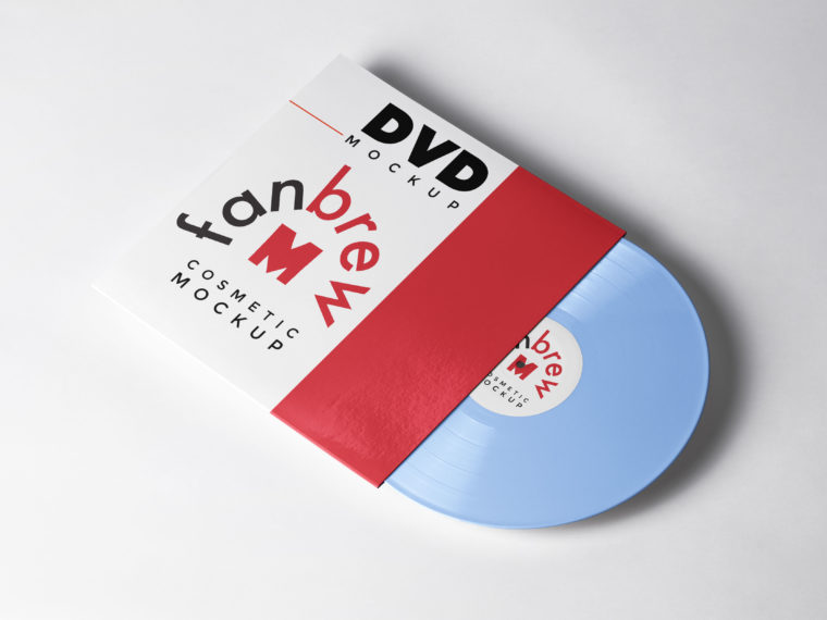 DVD Case Design Mockup