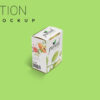 New Lotion Box Packaging Mockup