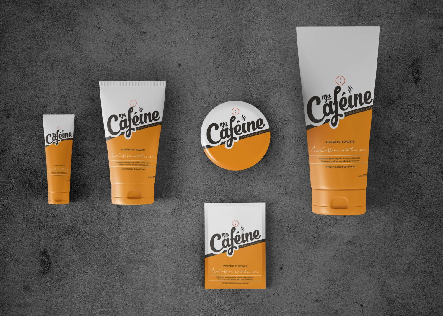 Branding Cosmetic Products Label Presentation Mockups