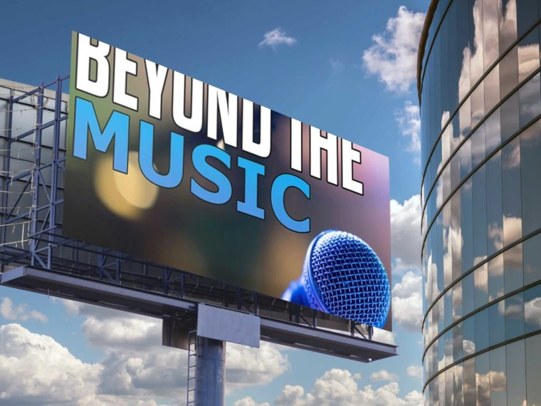 Music Wide Billboard Mockup 2019