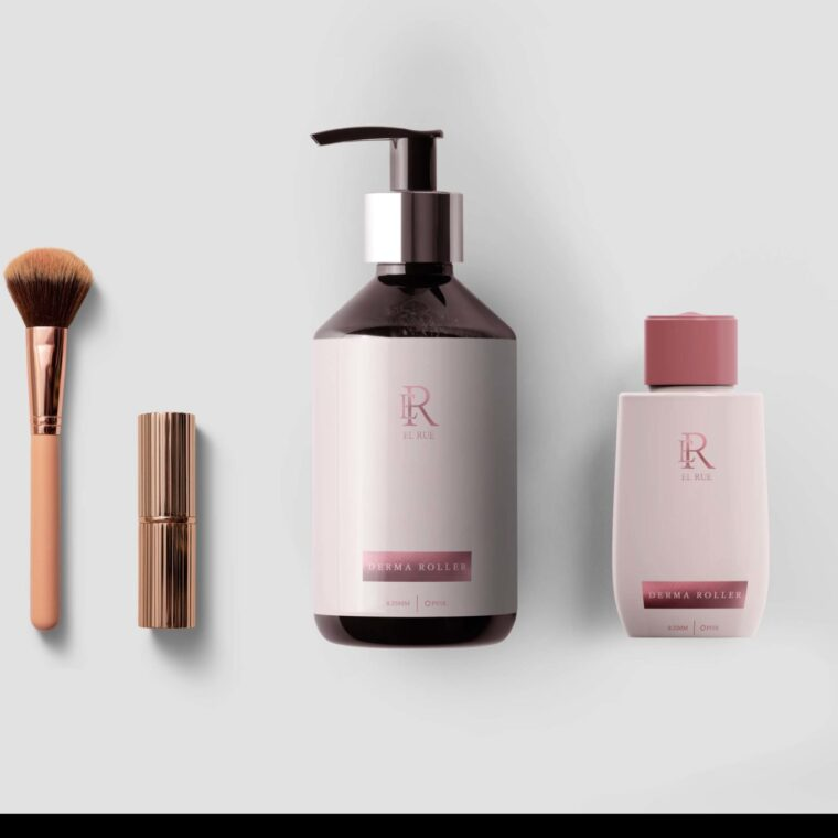 New Cosmetic Brand Label Mockup