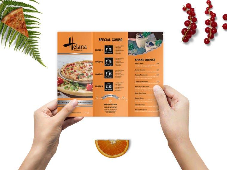 Prime Tri-Fold Brochure Mockup