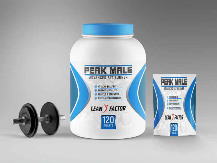 Protein Jar Package Mockup