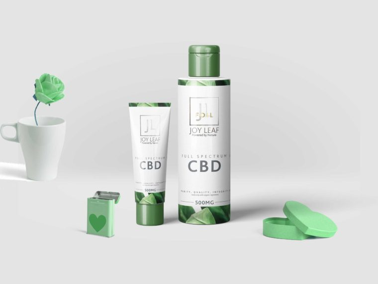 Spa Product Packaging Mockup