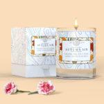 Candle Packaging Label Mockup