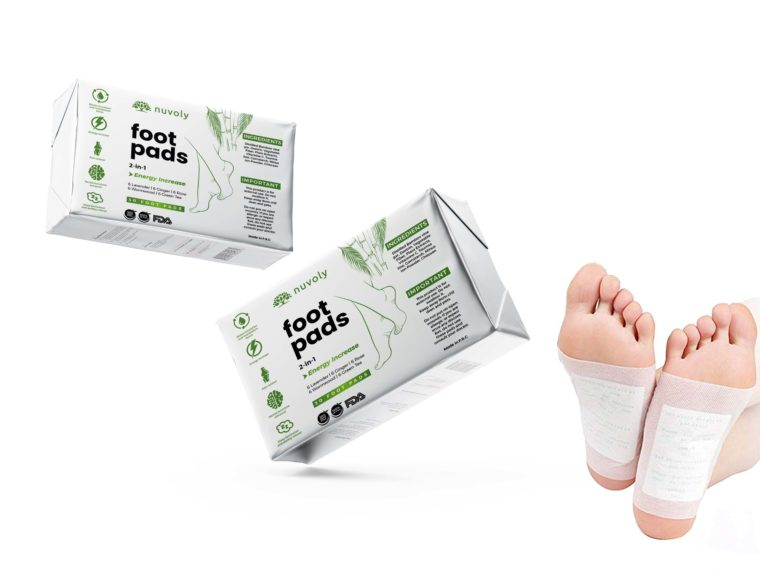 Foil Foot Pad Packaging Mockup