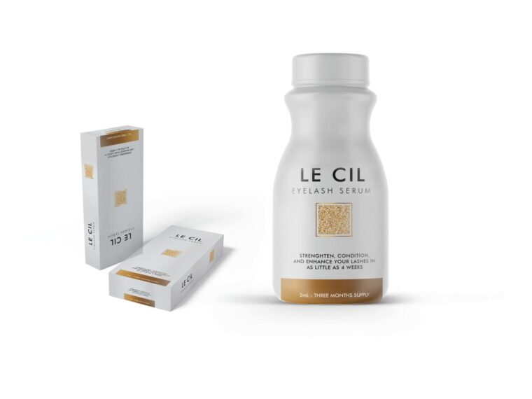 Lecil Tablet Packaging Design Mockup