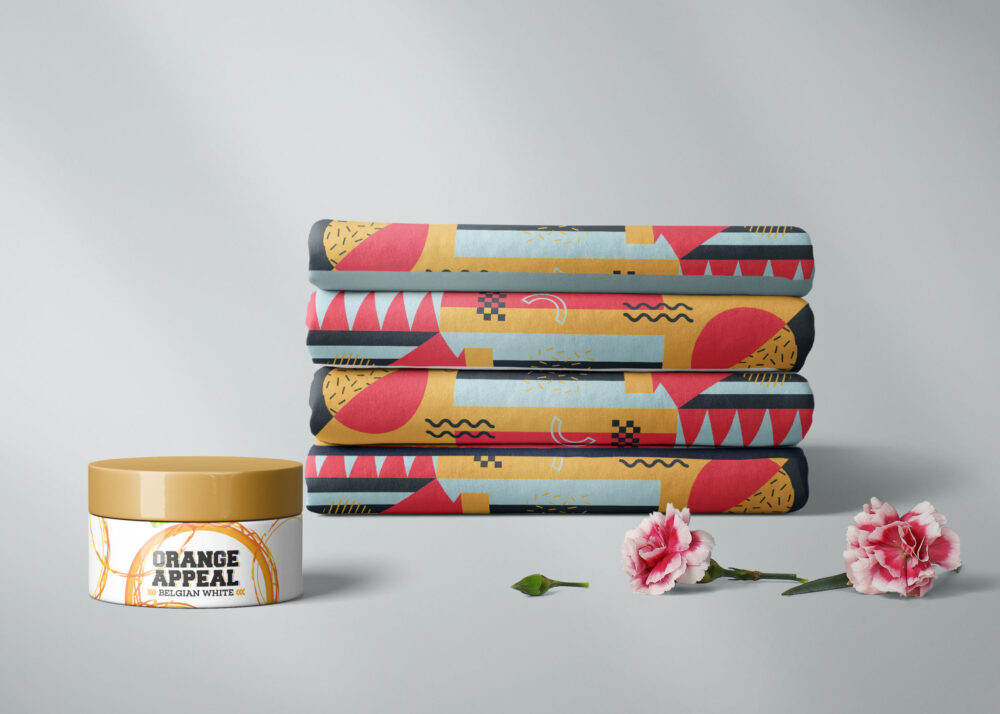 Box Cream Packaging Mockup