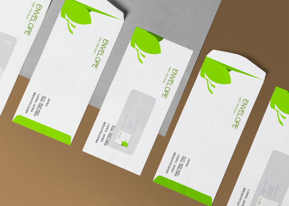 Envelope Design Mockup