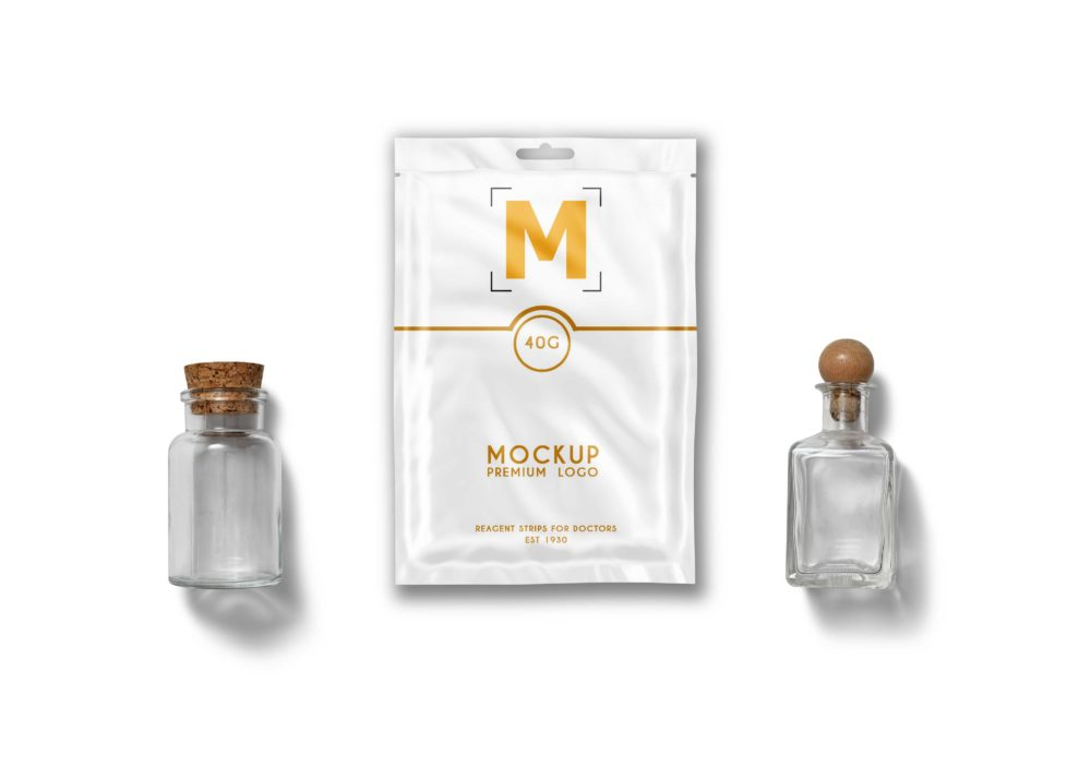 Sachet Pouch Packaging Mockup
