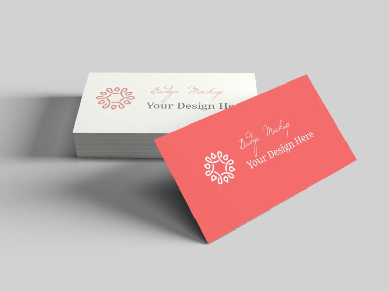 Color Full Business Card Mockups