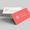 Color Business Card Mockups