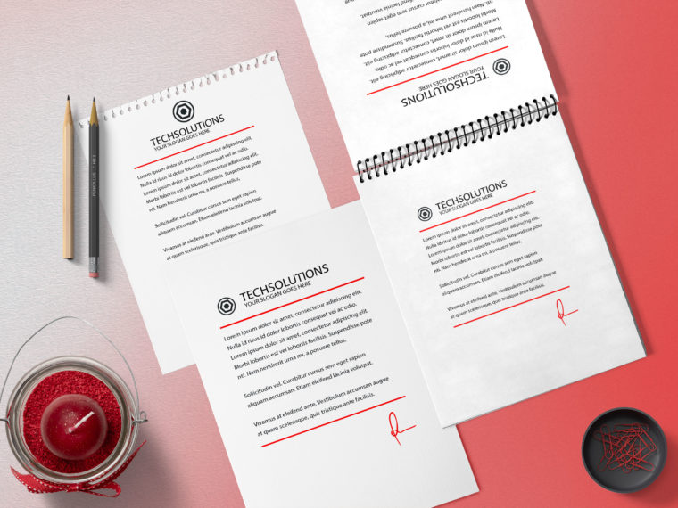 New Prime Company Stationery Mockups