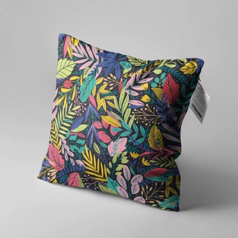 Sofa Pillow Design Mockup
