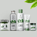 CBD Branding Bottle Presentation Mockup
