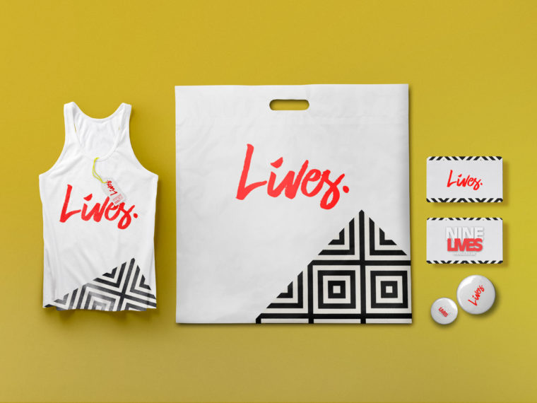 Premium Shopping Bag Branding Mock-Up