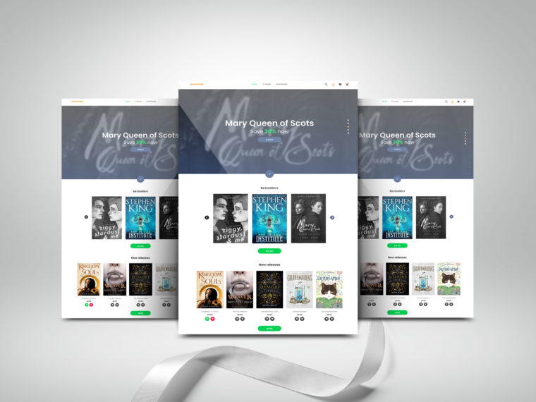 Vertical Website Presentation Mockup 2019