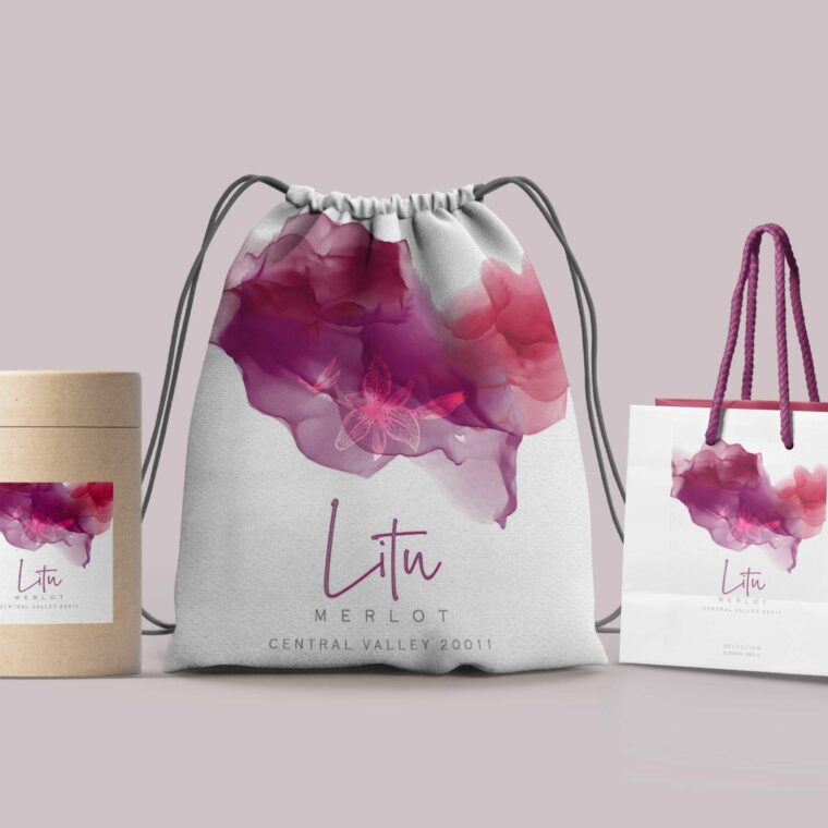 Carry Bag Design Mockup
