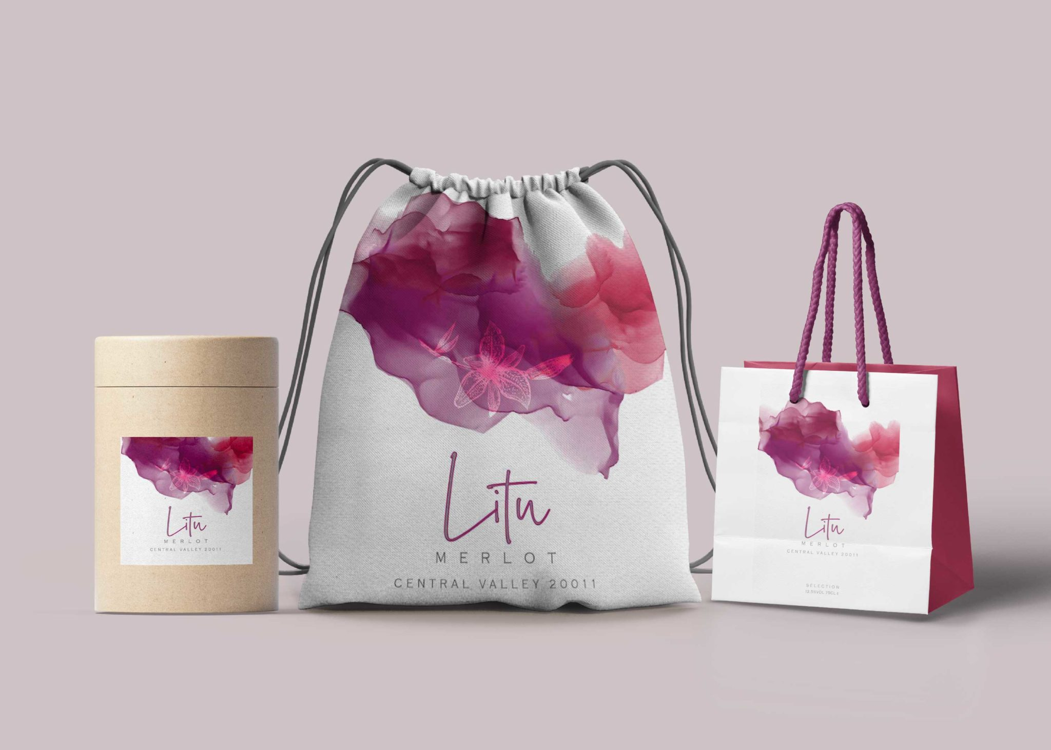 Carry Bag Design Presentation Mockup