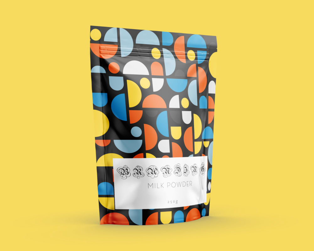 Pouch Label Mock-Up