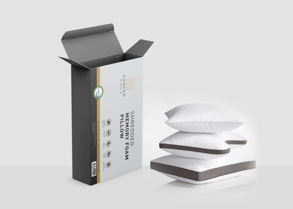 Pillow Packaging Mockup