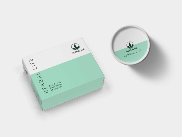 Beauty Products Packaging Mockup