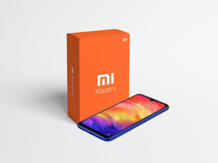 Prime Mi Mobile Packaging Mockup