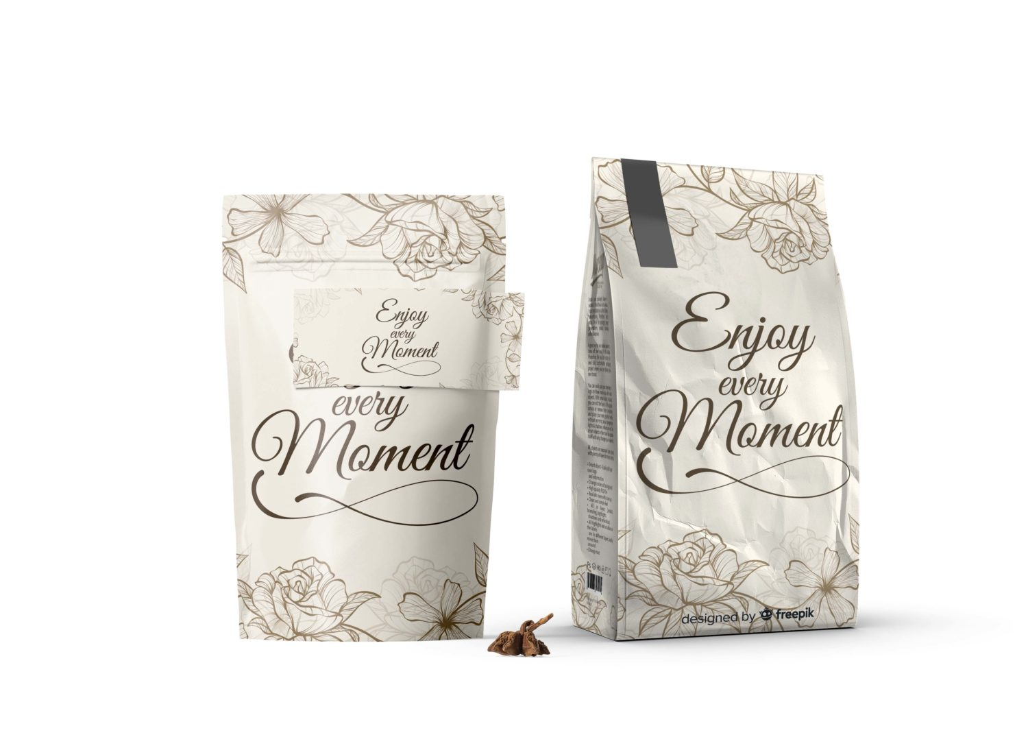 Enjoy the Stand Packet Mockup